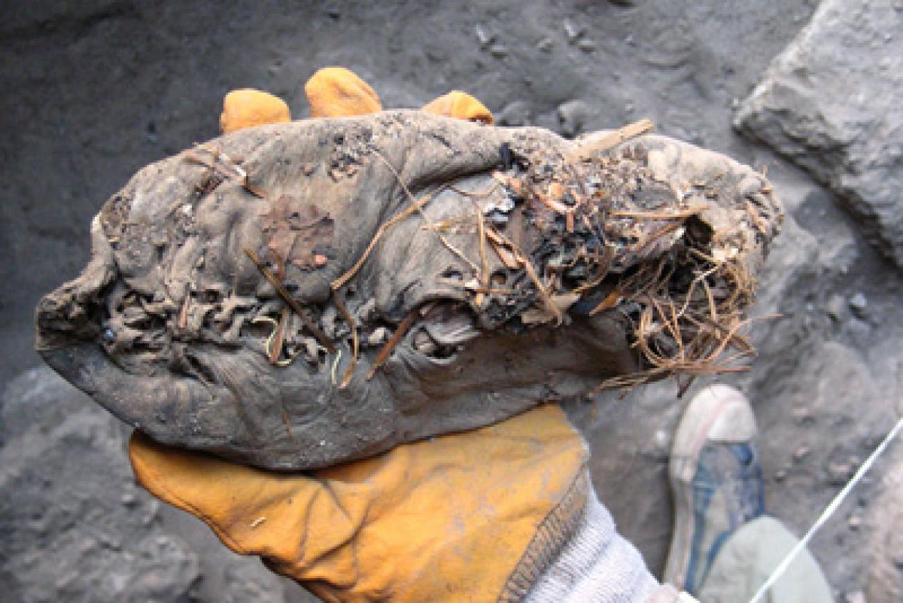 Недавно в армении во время раскопок один из археологов обнар.